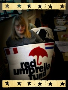 Elena with Red Umbrella Fund