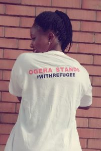 OGERA stands with refugee 2017